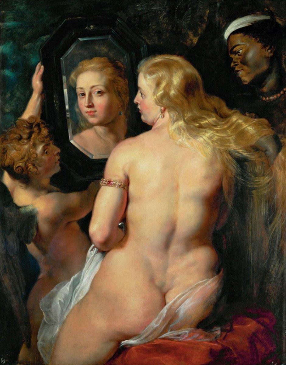Venus at a Mirror, 1615