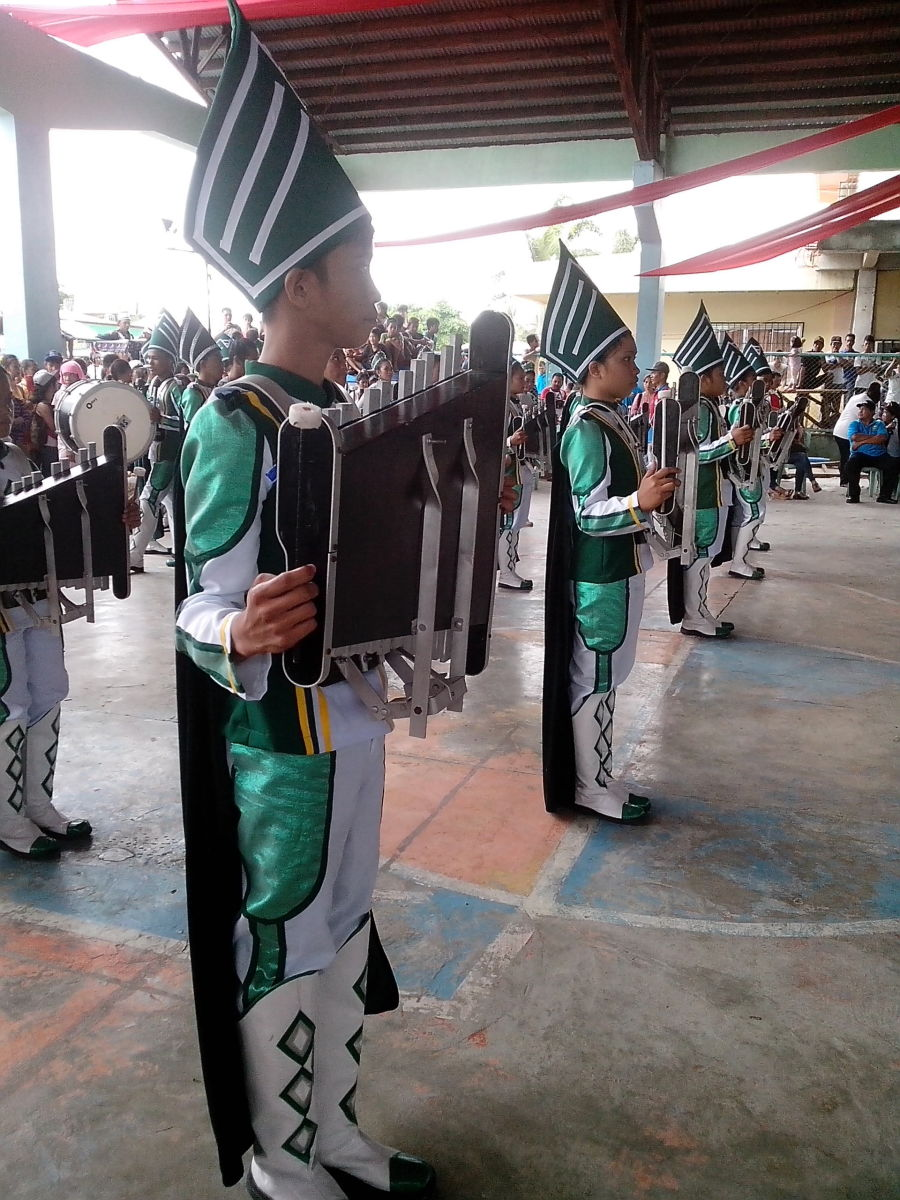 Drum, Lyre and Majorette Competition-High School Entrant during 3rd Day of Buswak 2015 (Photo Source: Ireno A. Alcala)