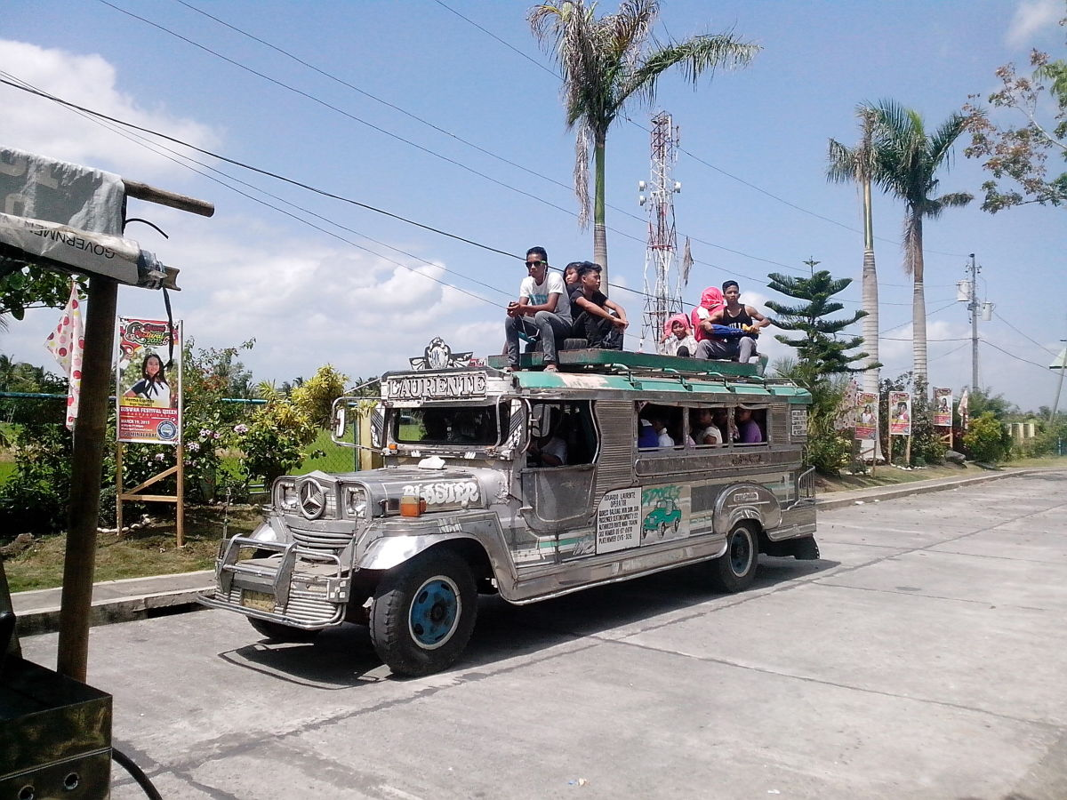 Way of life in Minalabac: Jeepney as main public transport (Photo Source: Ireno A. Alcala)