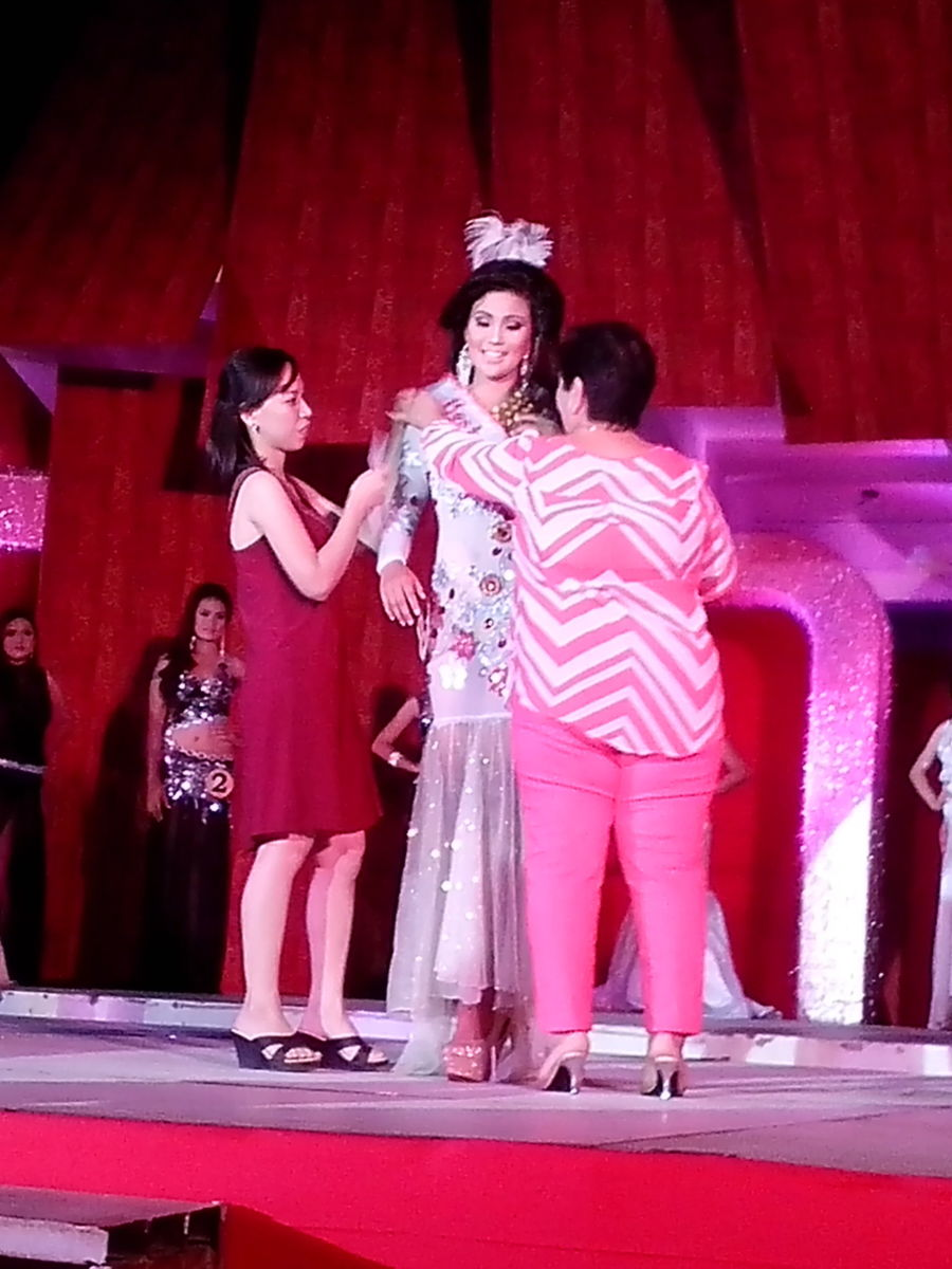 Ms. Baliuag Nuevo as the most-awarded candidate of Miss Buswak 2015 (Photo Source: Ireno A. Alcala)
