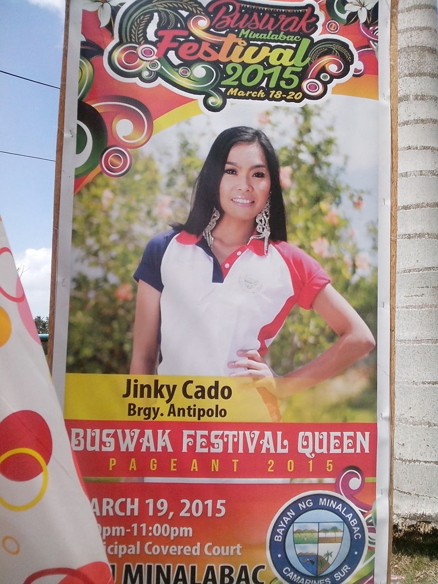 Miss Antipolo as Miss Talent for Buswak 2015 (Photo Source: Ireno A. Alcala)