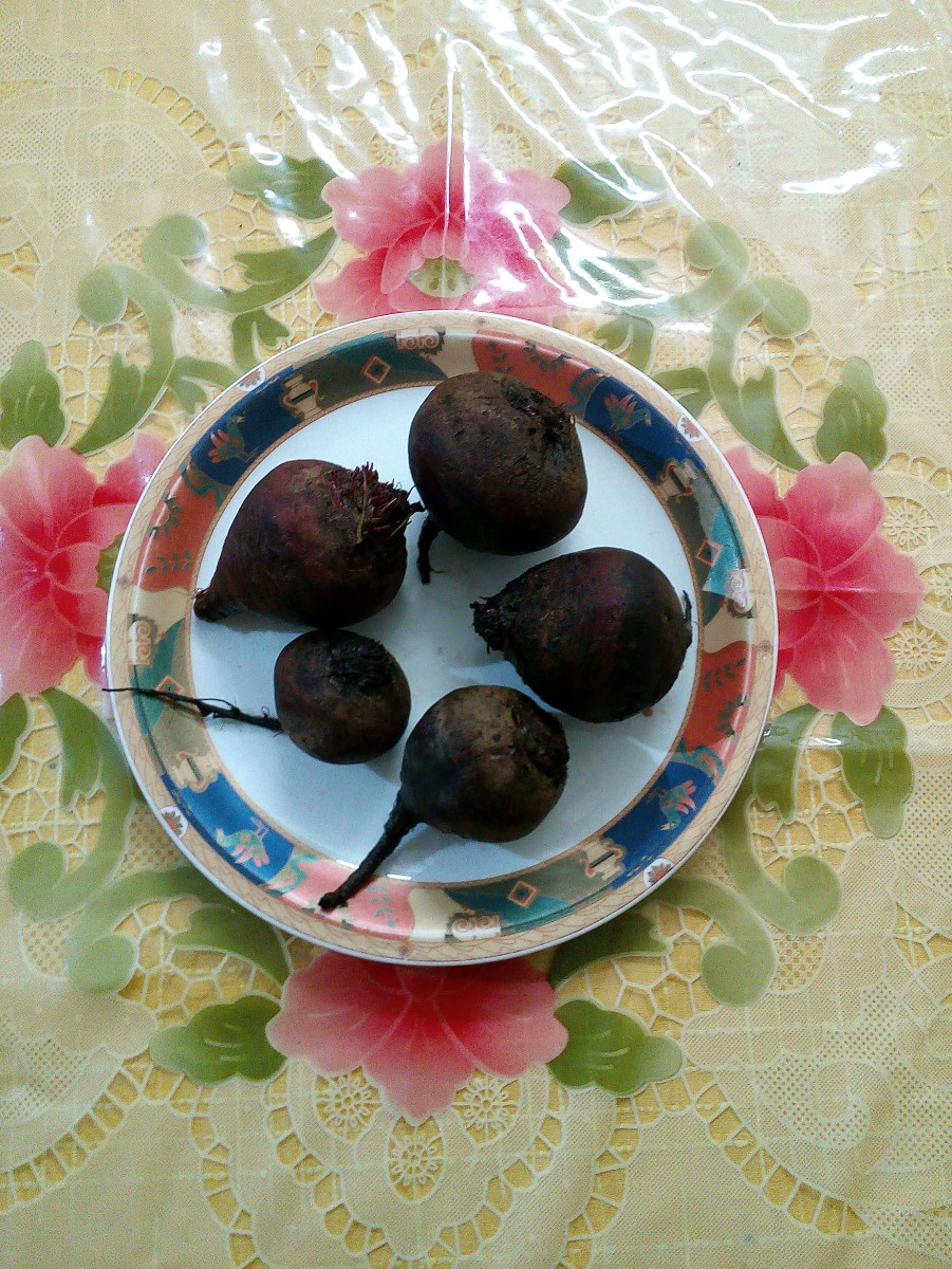 Beetroot mixed dry vegetable recipe - Indian style