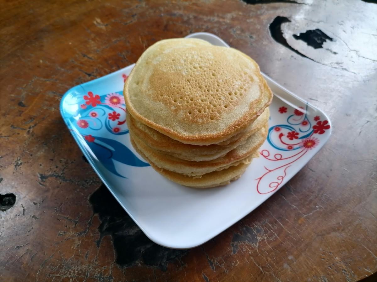fluffy-pancake-with-baking-powder