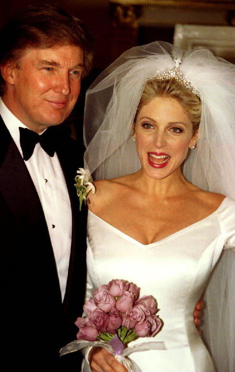 Ivana And Donald Trump Wedding 1977.Donald Trump S Early Life And Wives Ivana Marla Melania Reelrundown