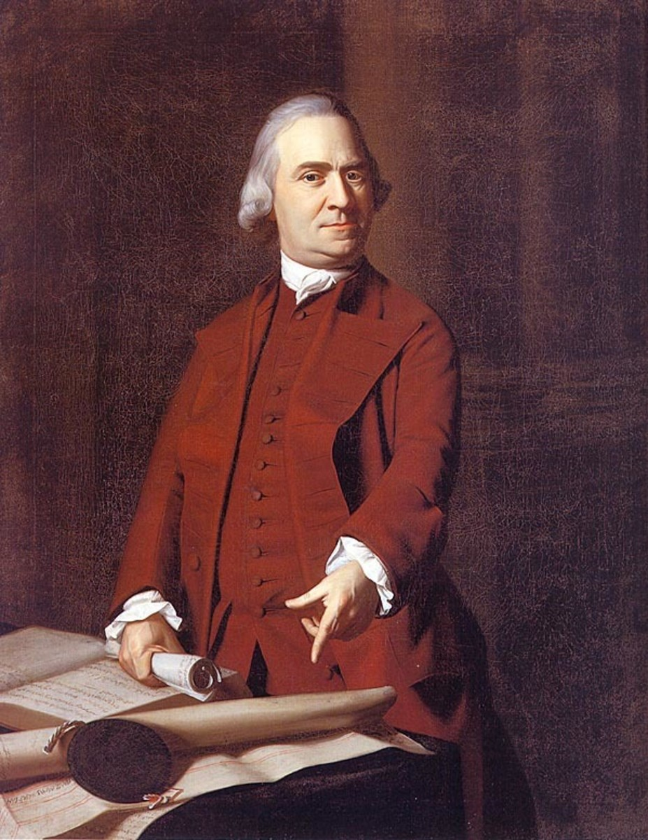 "Sam Adams, the Father of the American Revolution, said that our rights come from ""the great Law Giver and Head of the Christian Church."""