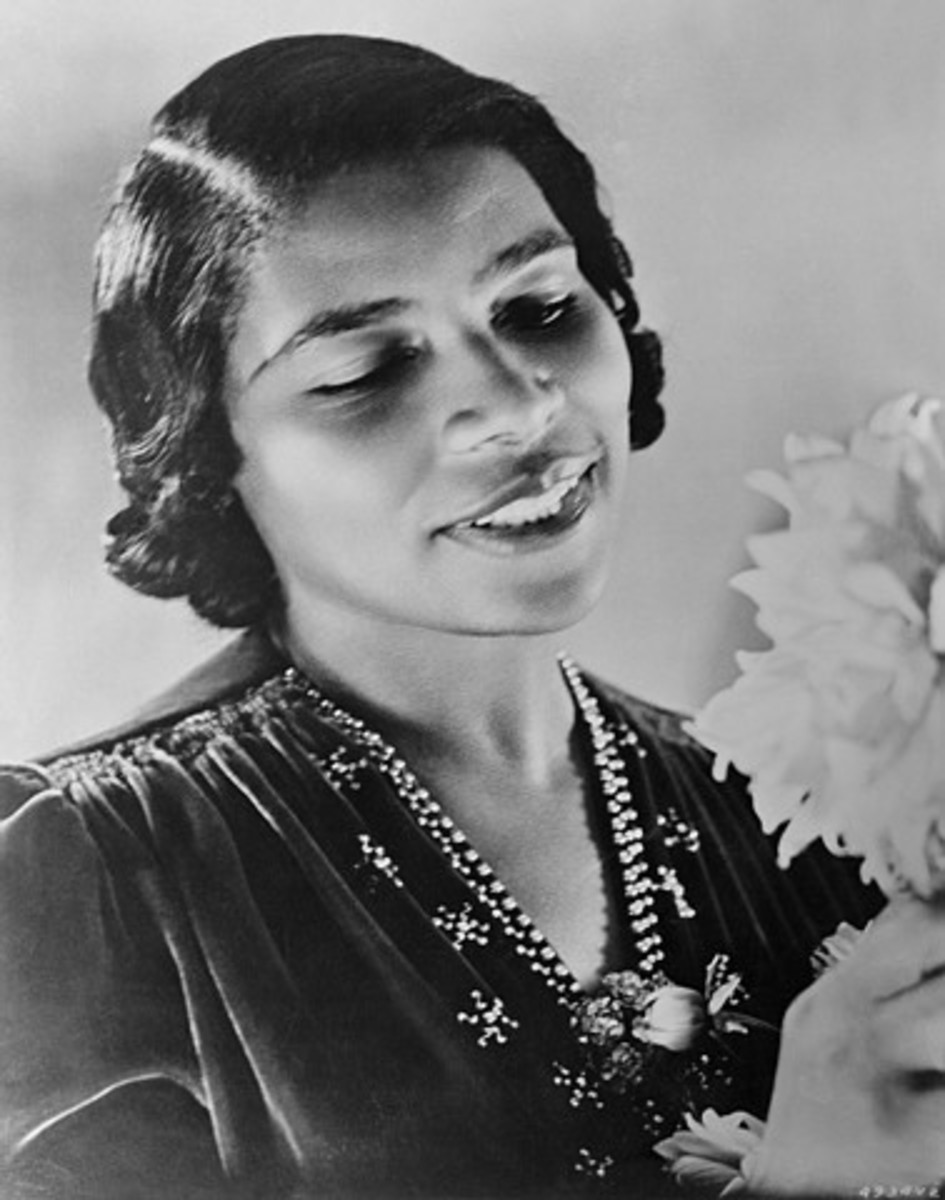Marian Anderson, First African-American Operatic Singer