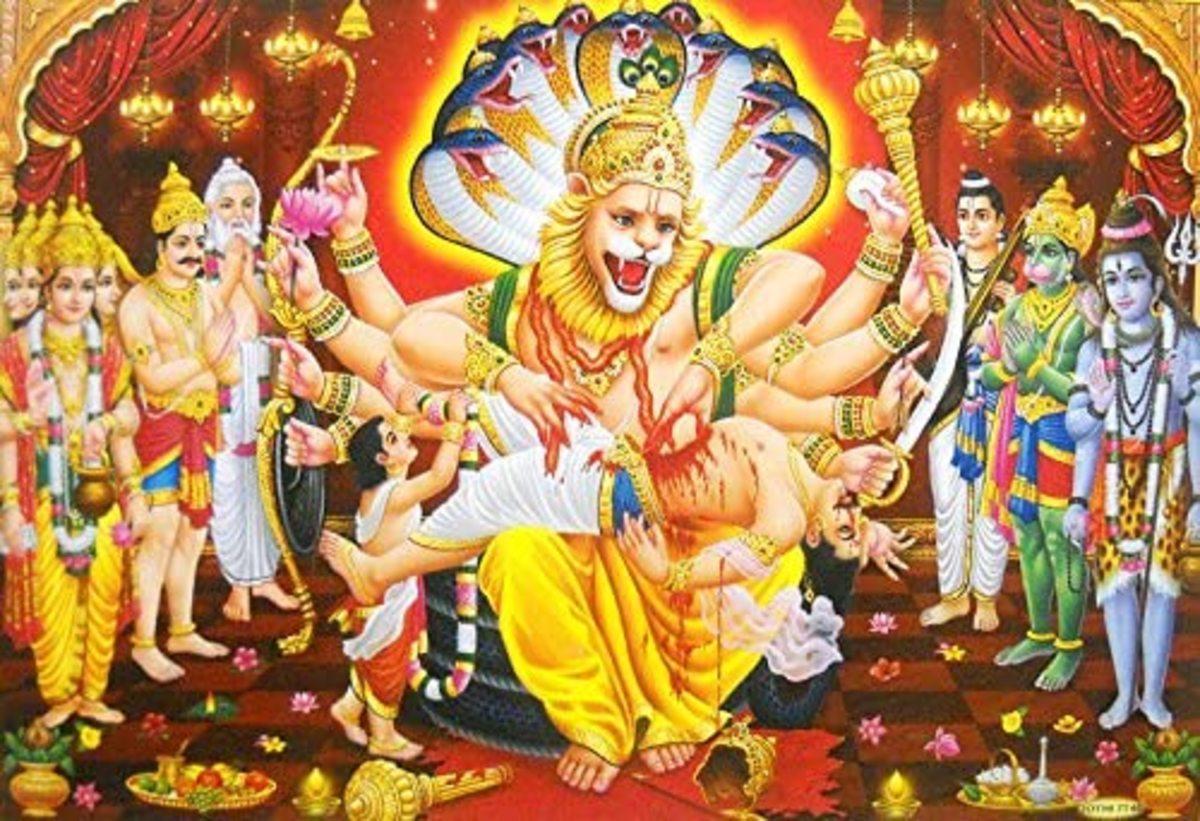 End of Hinranyakashyapa and his atrocities ....