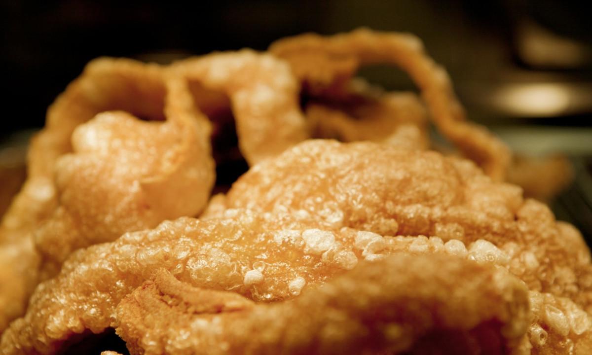Filipino Chicharon (Fried Pork Rinds)