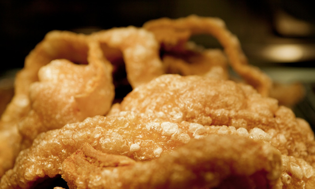 Filipino Chicharon (Fried Pork Skins)