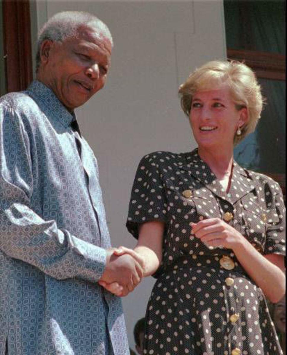 Nelson Mandela with Princess Diana March 17, 1997