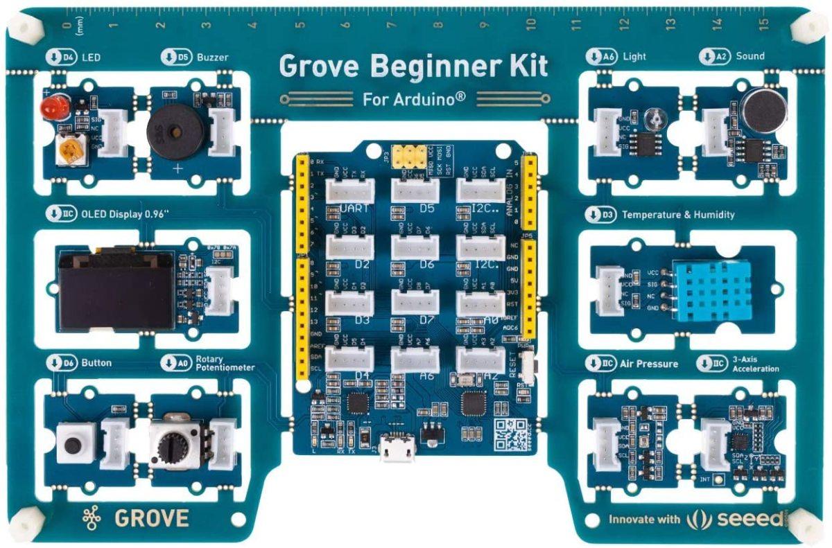 Grove Beginner kit from Seed Studio
