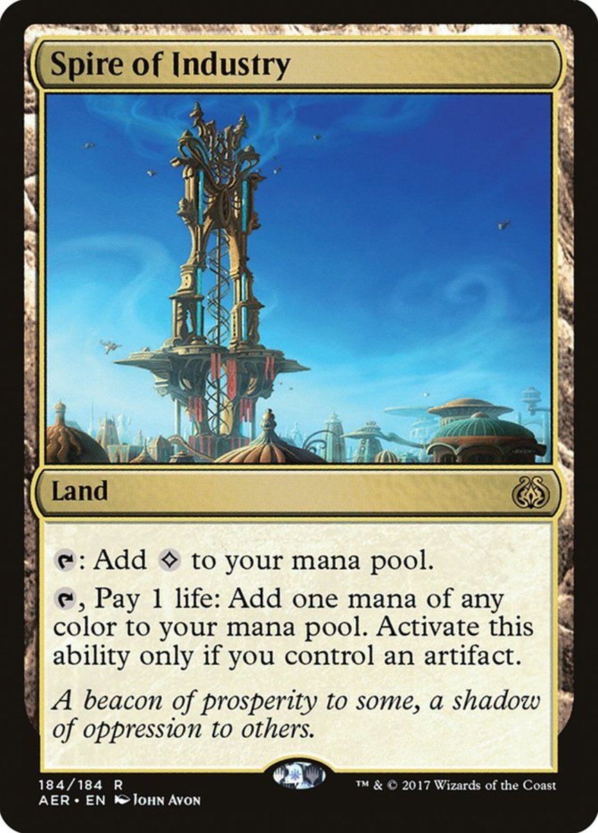 Spire of Industry mtg
