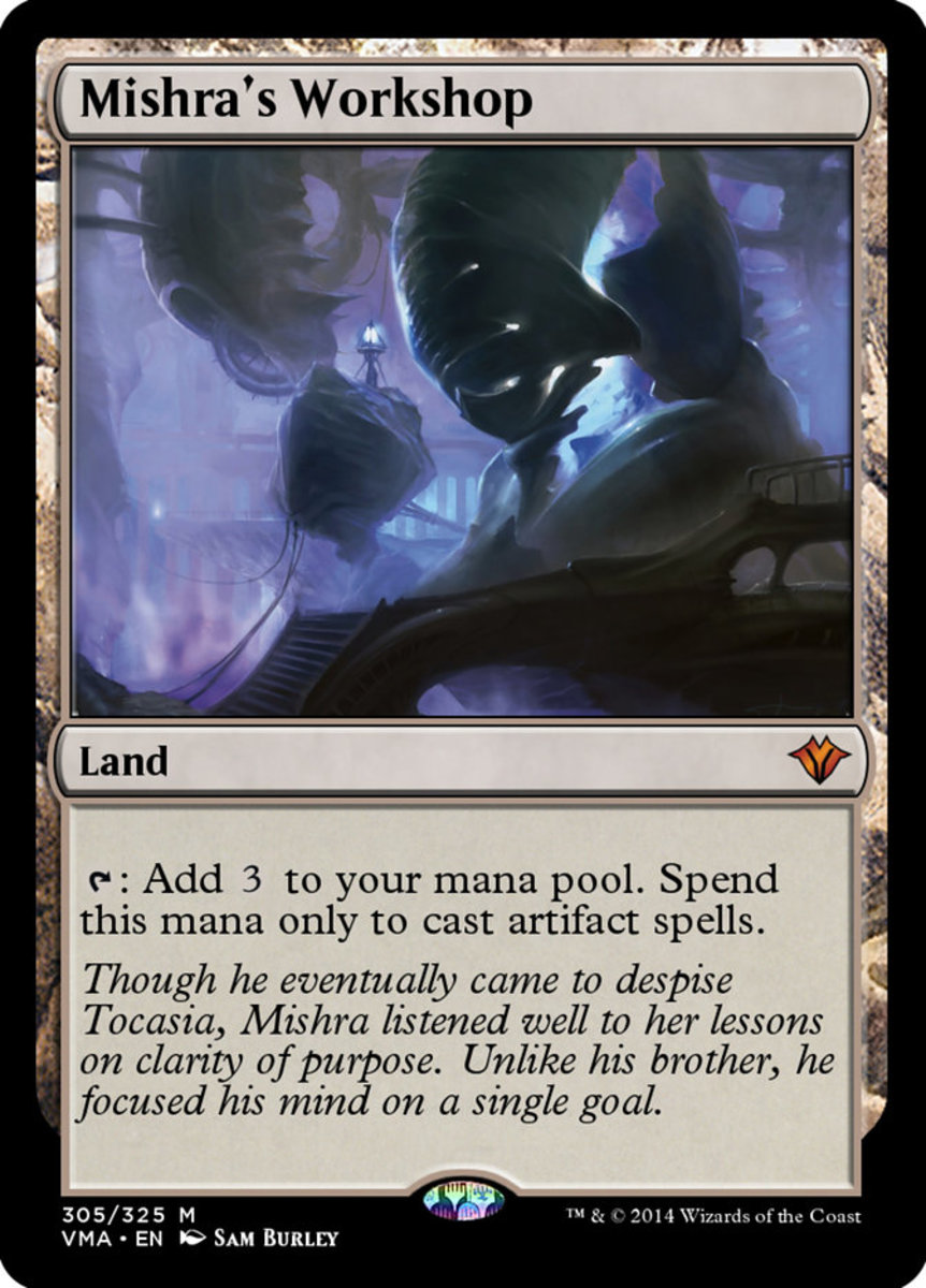 Mishra's Workshop mtg