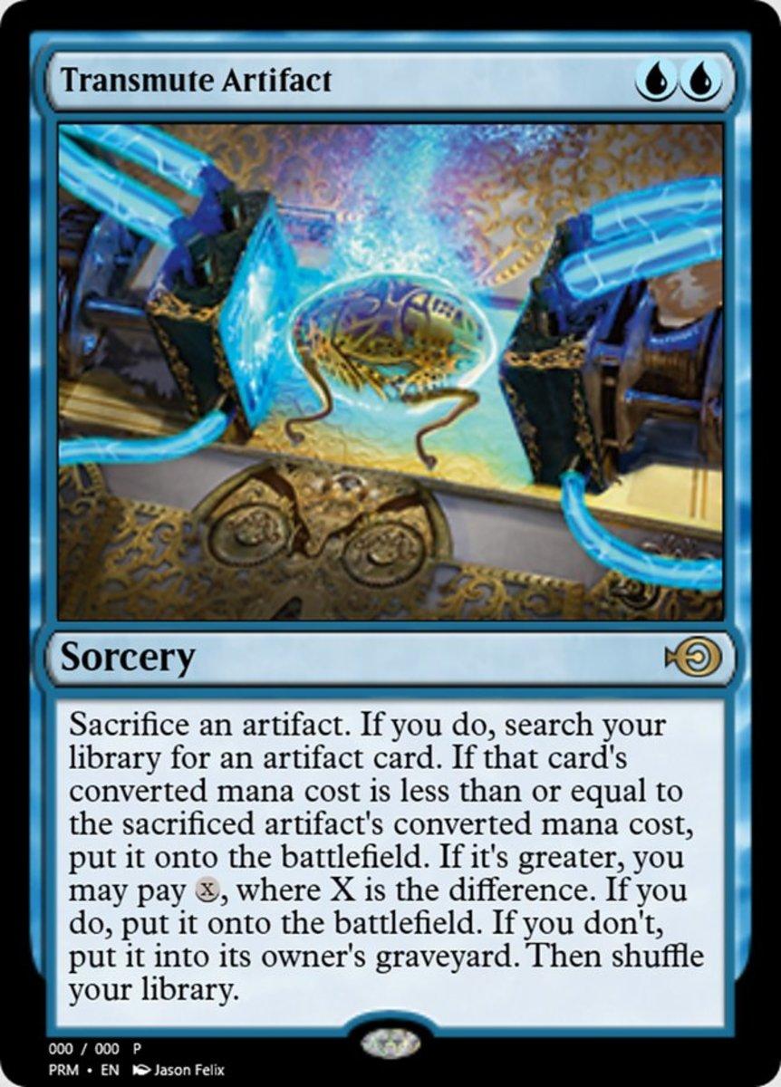 Transmute Artifact mtg