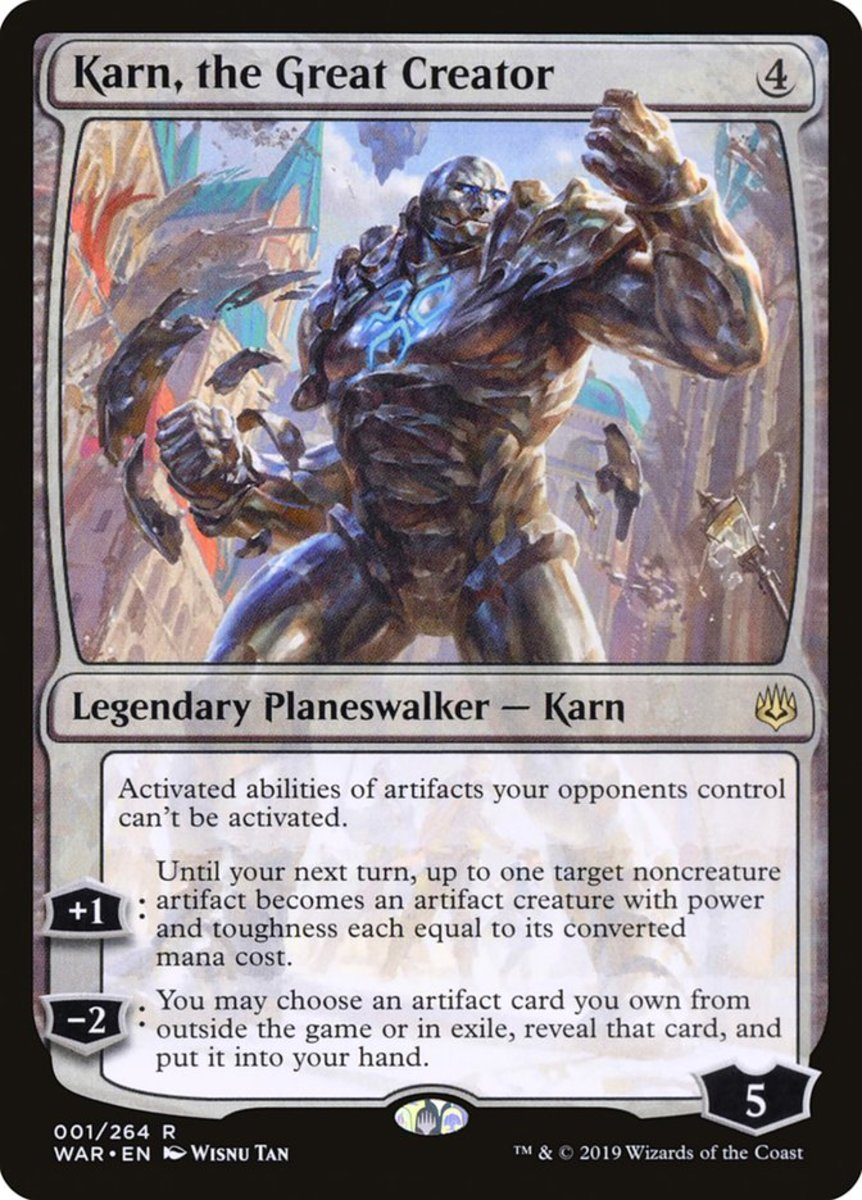 Karn, the Great Creator mtg