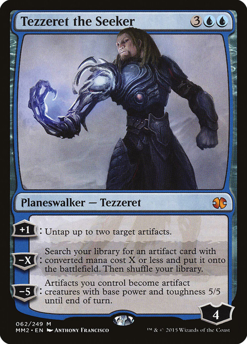 Tezzeret the Seeker mtg