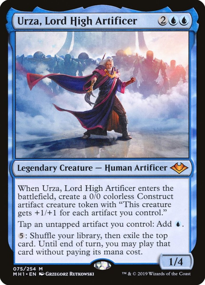 Urza, Lord High Artificer mtg