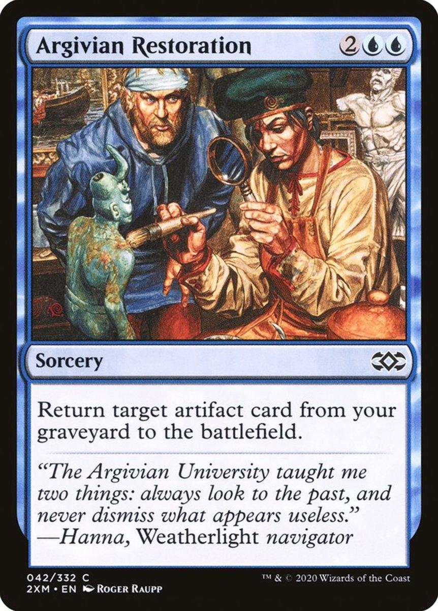 Argivian Restoration mtg