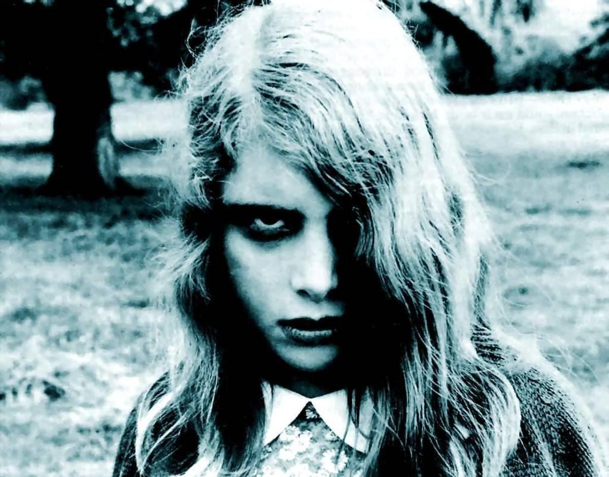 The human like zombies of Romero's horror film.