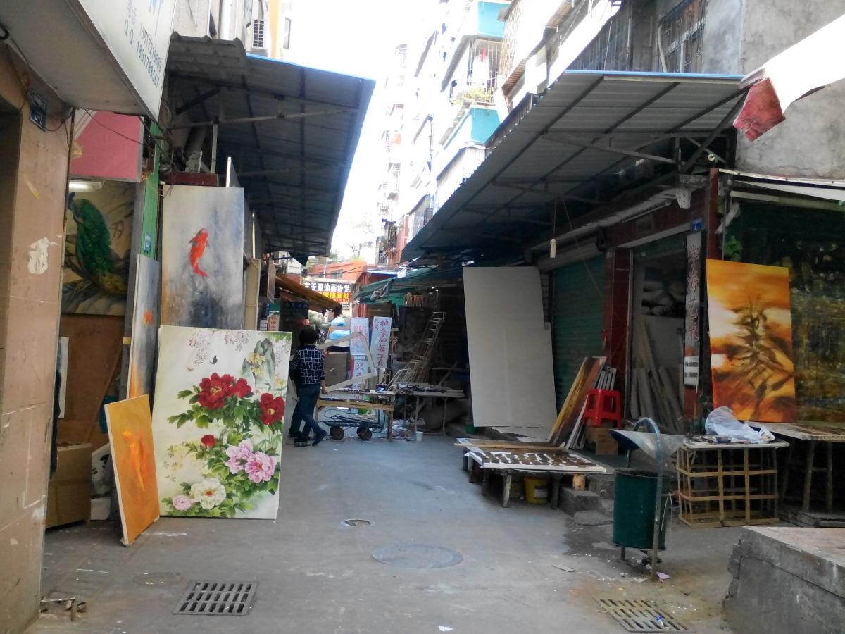 Dafen Art Village, Shenzhen