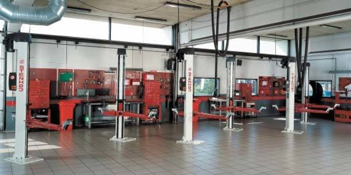 How to start an auto repair shop- My dream auto repair workshop layout.