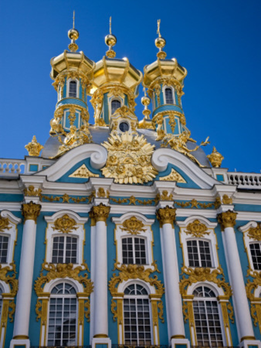 Catharine's Palace, St. Petersburg, Russia