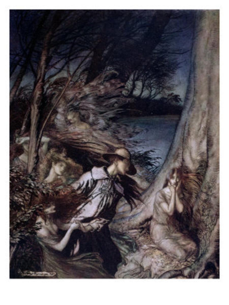 Fairy Illustration, 1912