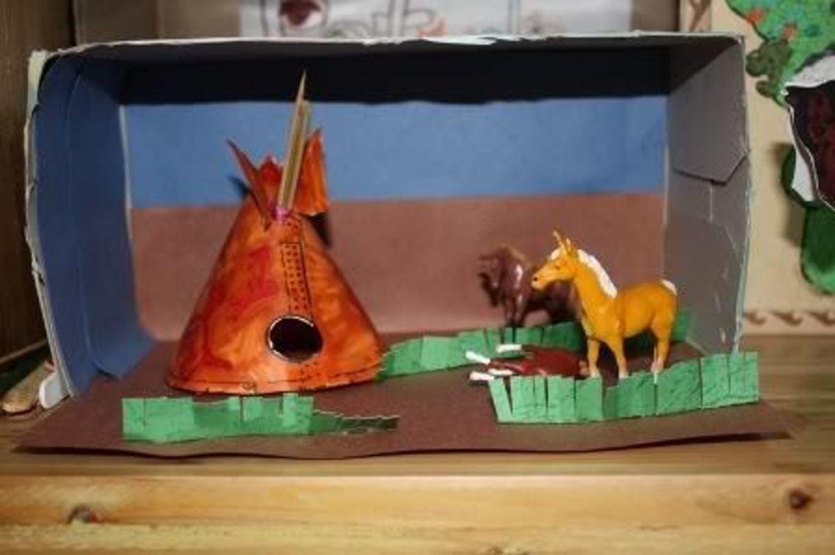 Christmas Shoebox Diorama.How To Make A Shoebox Diorama Feltmagnet