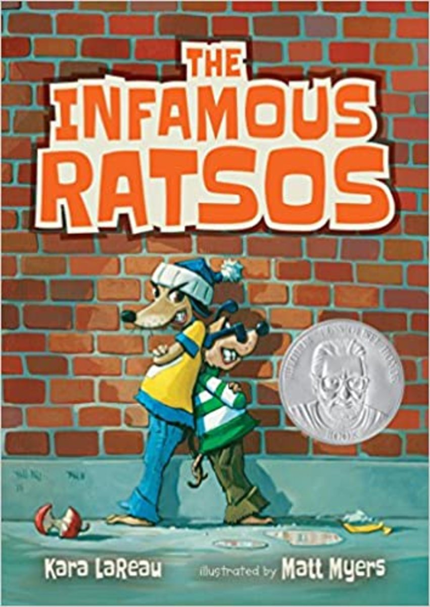 The Infamous Ratsos by Kara Lareau features humor and animal characters.