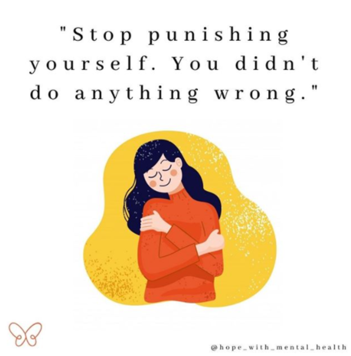 An important reminder from Hope With Mental Health