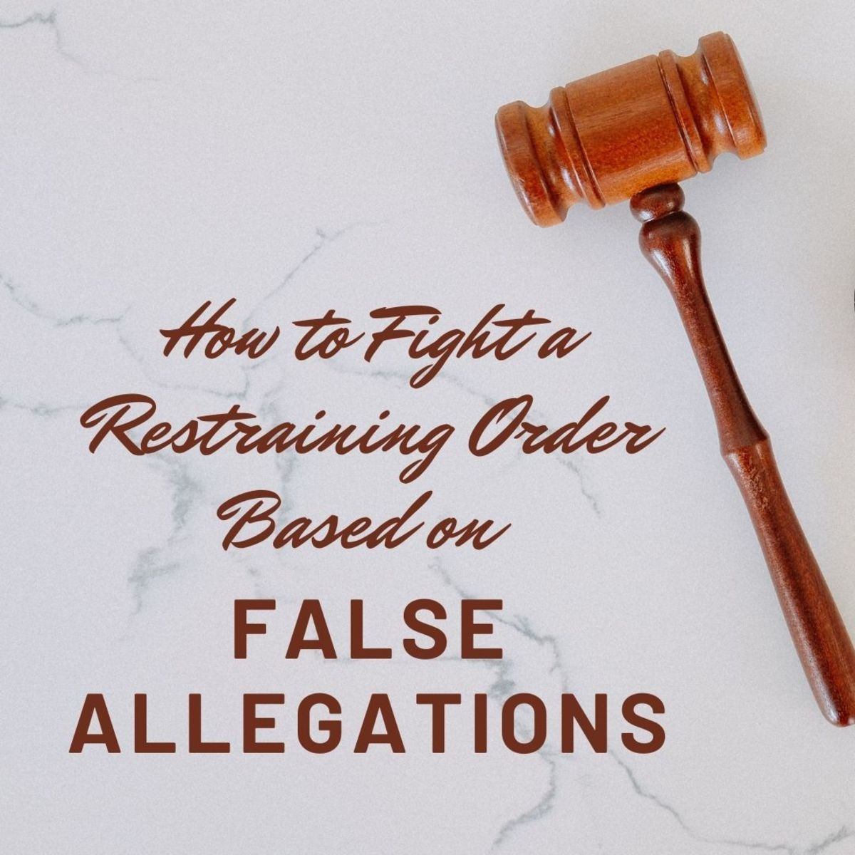 This article will provide tips and advice for fighting a retaliatory restraining order based on false allegations.