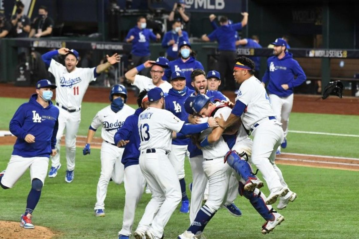 LA Dodgers win the World Series