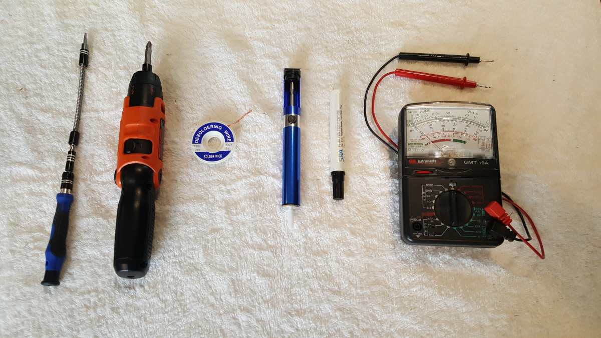 Optional tools.