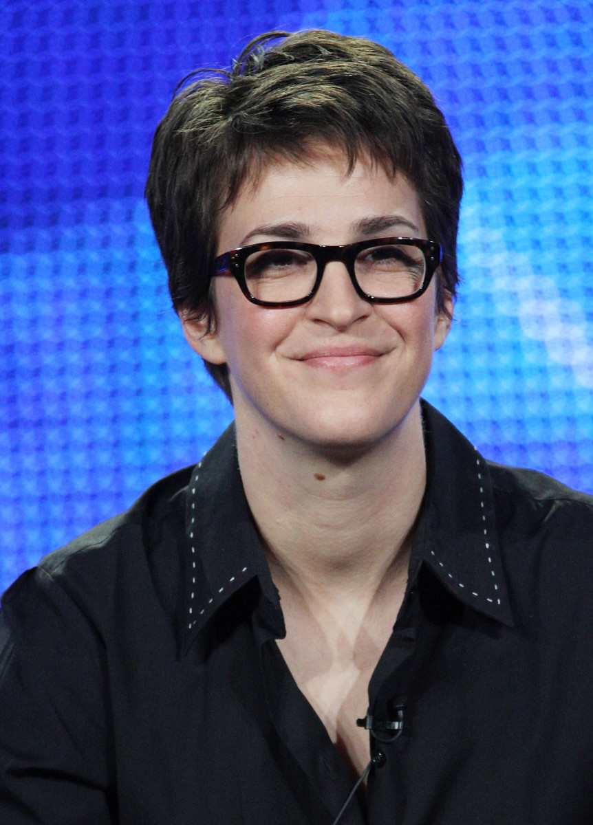I.e. Rachel Maddow when she doesn't have her newscaster voice on.