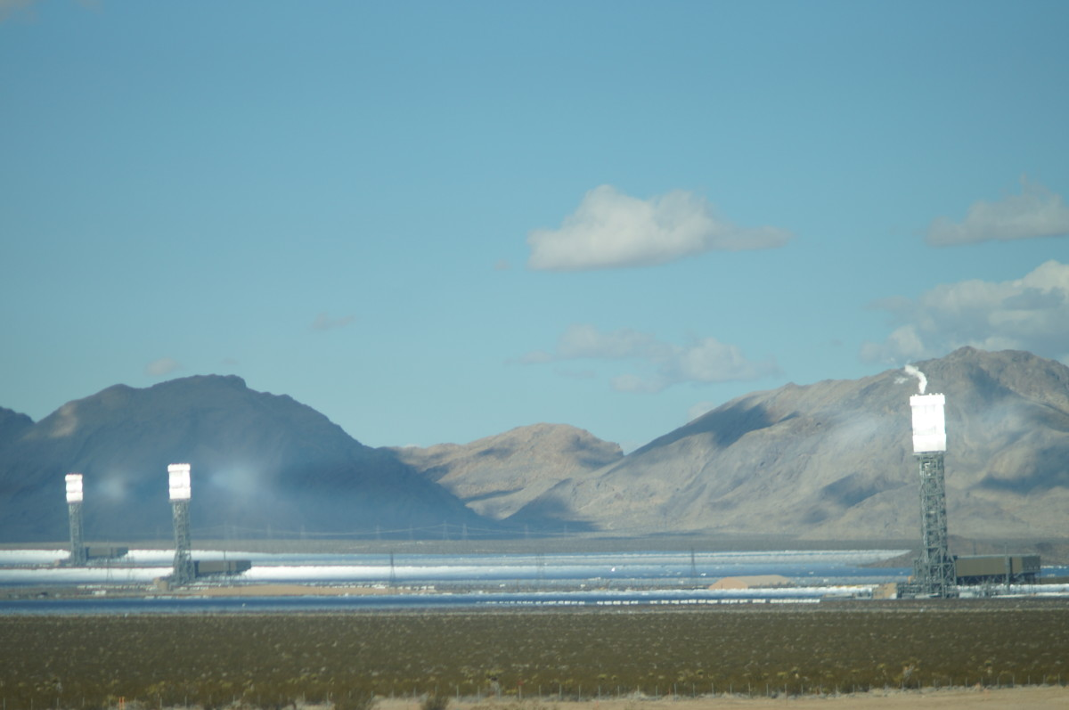 Ivanpah Solar Thermal Facility at Mohave might provide answers to our future energy needs.