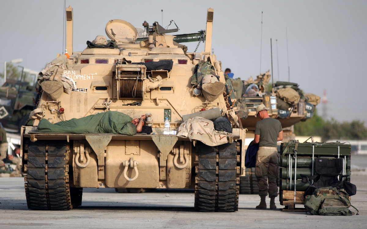 M88 Recovery Vehicle Becomes a Military Home
