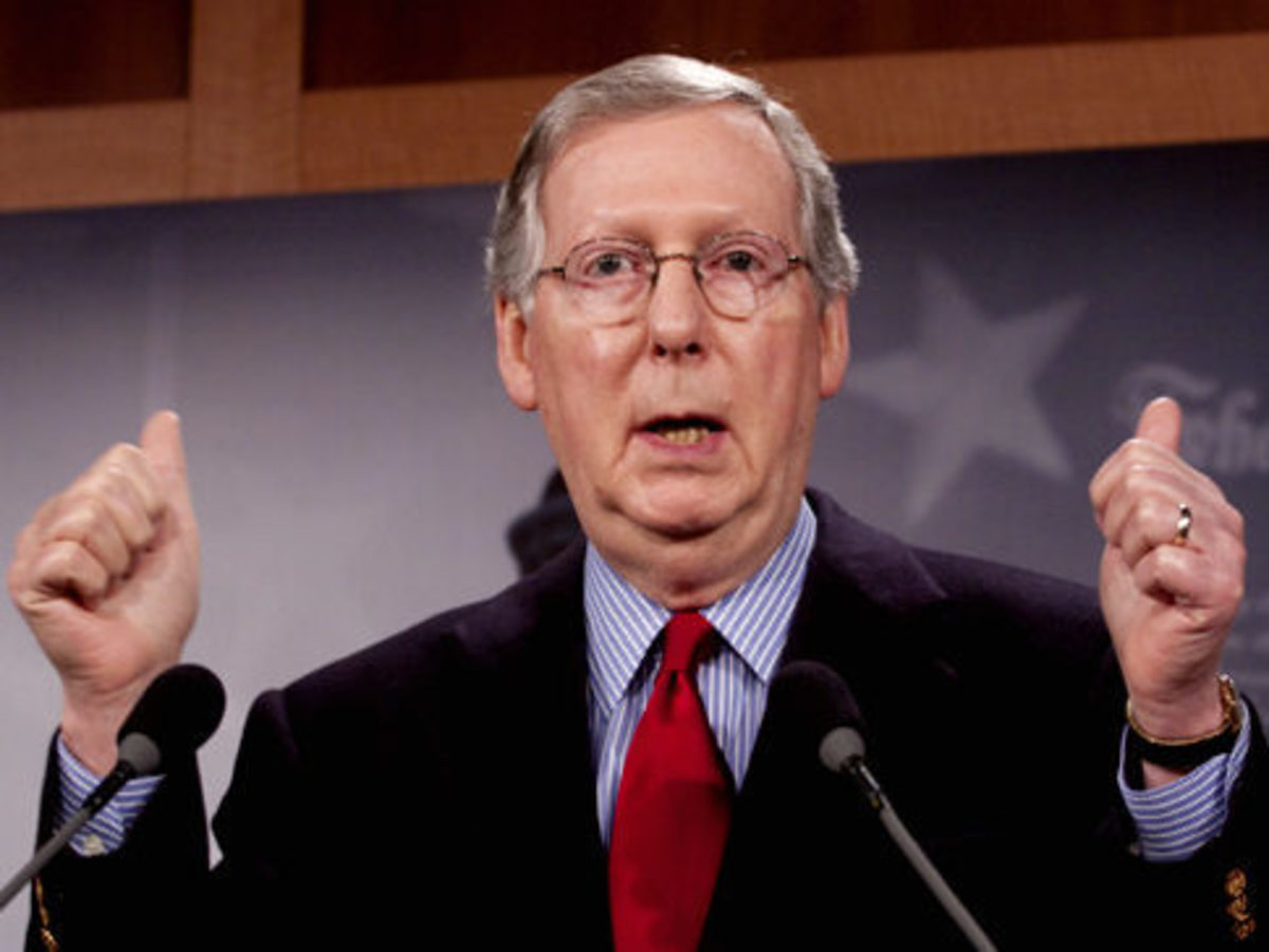 Senator Mitch McConnell claimed Obamacare would cost the economy two million jobs.