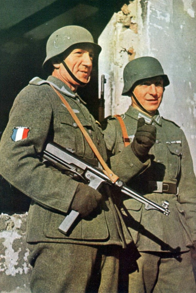 Secret: Frenchmen Who Joined the Ss and Fought for Germany in Ww Ii