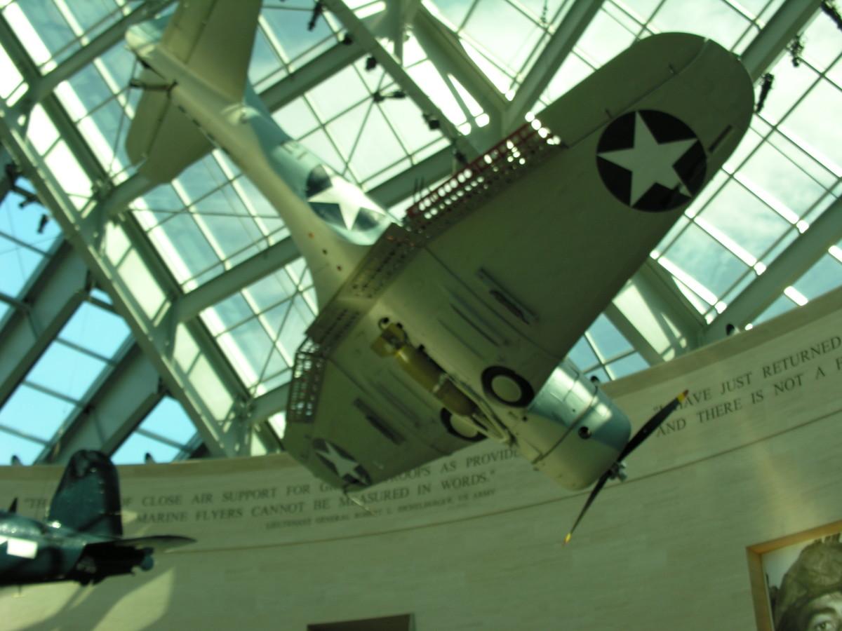 The Douglas SBD Dauntless Dive Bomber