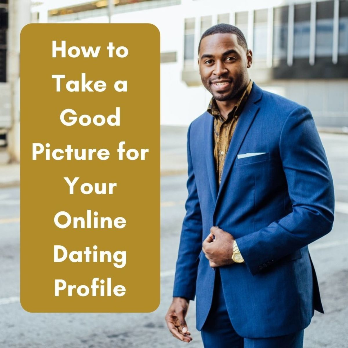"""A picture is worth a thousand words—and in online dating, your profile picture could be your first step towards saying """"I do."""""""