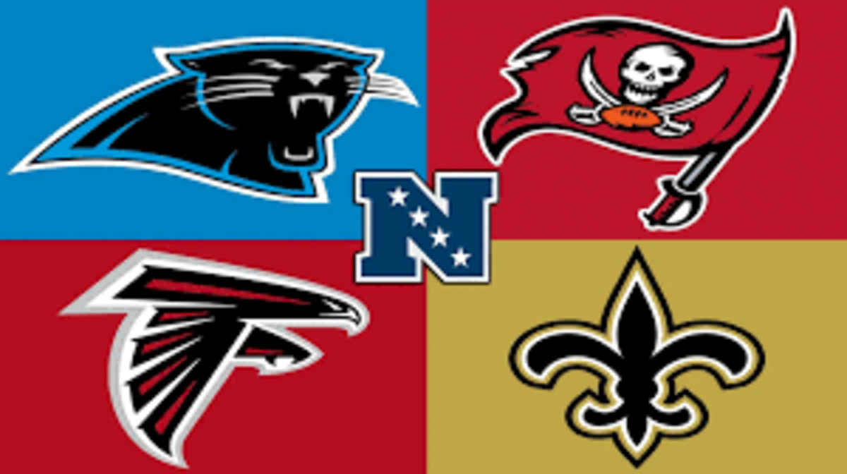 The Saints made the playoffs last year. The Falcons were inconsistent and so was Jameis Winston and the Bucs while the Panthers struggled.This is a whole new division with Brady, Gronk, and Fournette joining the Bucs and Teddy joining Carolina.