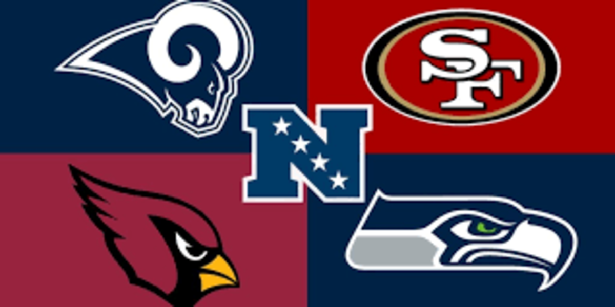 The Seahawks and 49ers were locked in a fight all season long where the 49ers claimed the division and the Seahawks got the fifth seed. The rams declined and traded away Ramsey. The Cardinals showed flashes and now have Hopkins to help Murray.