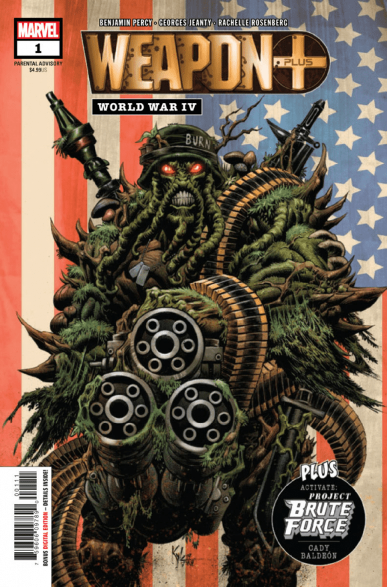 In this issue we are introduced to Weapon IV and his origins in the organization.