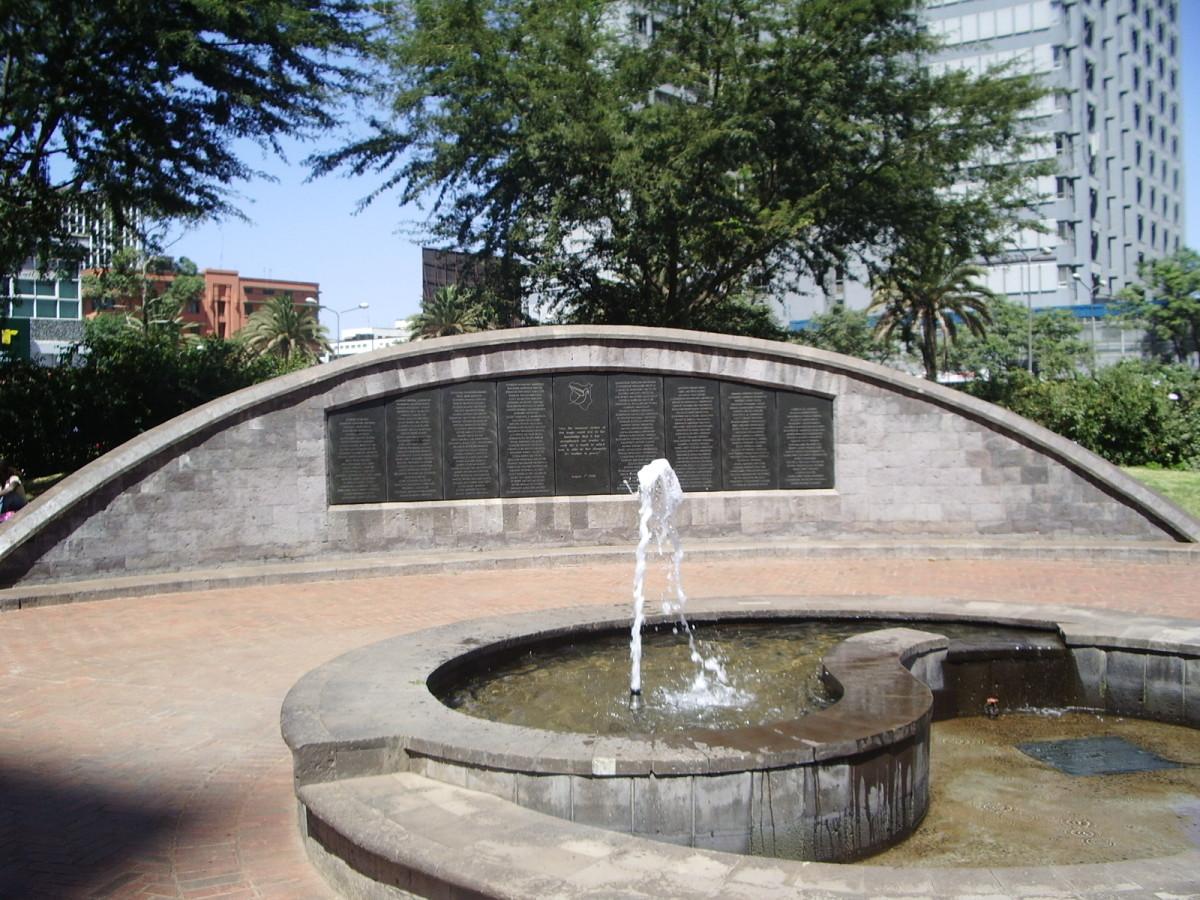 File:US Embassy bombing memorial in Nairobi