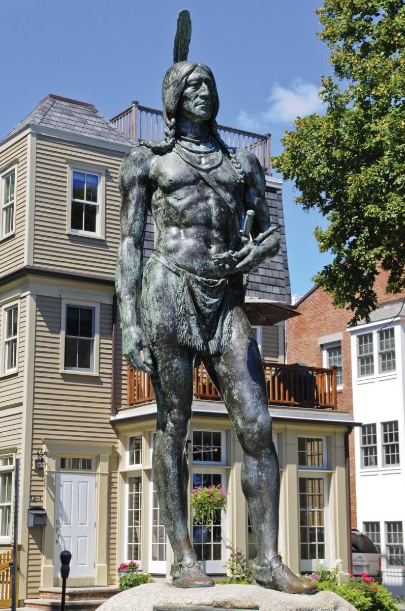 Statue of Chief Massasoit
