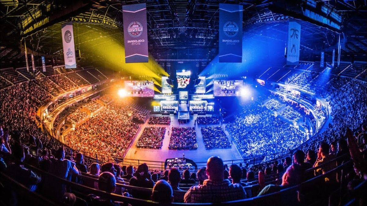 The ESL One Tournament Venue in Cologne, Germany - 2015