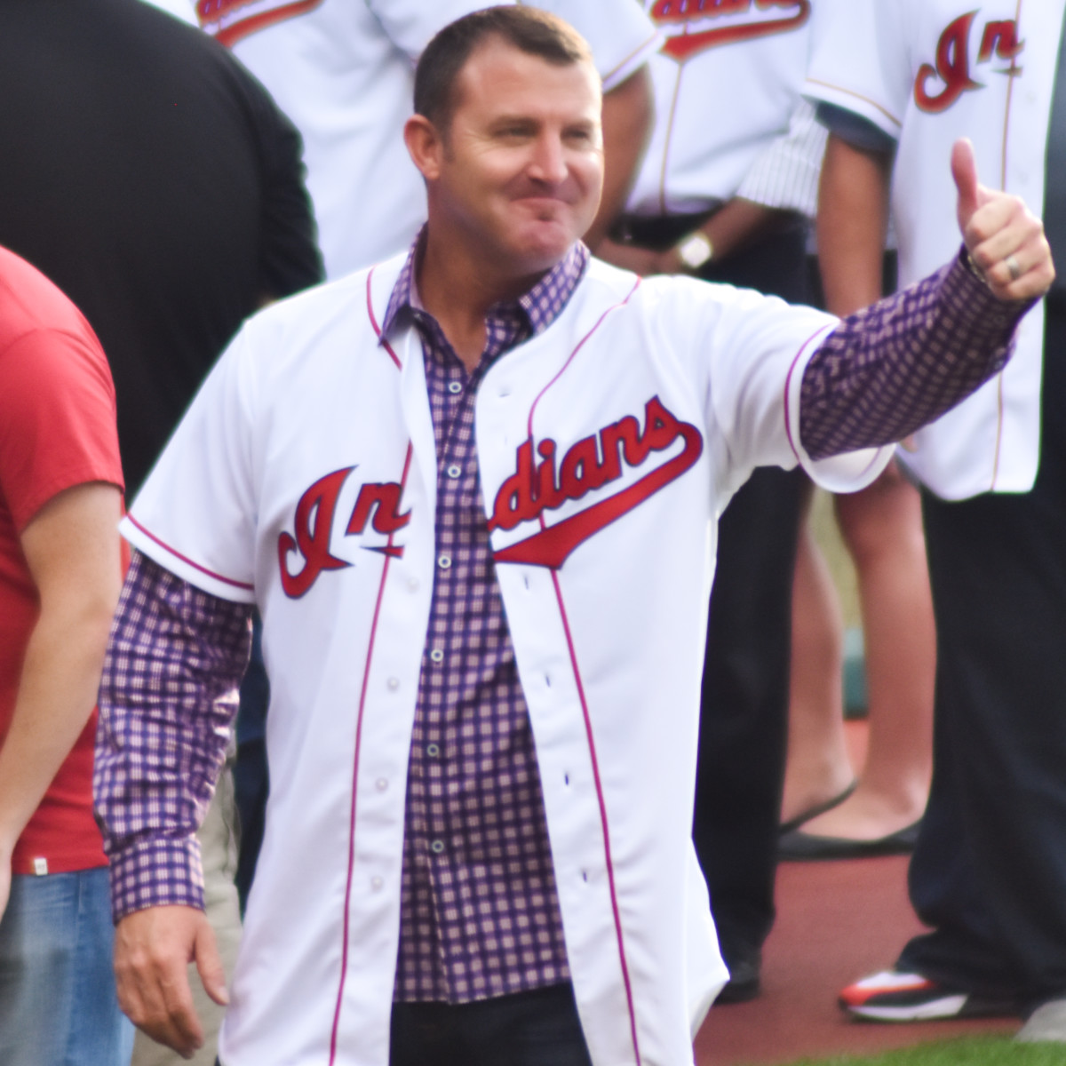 Jim Thome holds Cleveland's single-season and career records for home runs.