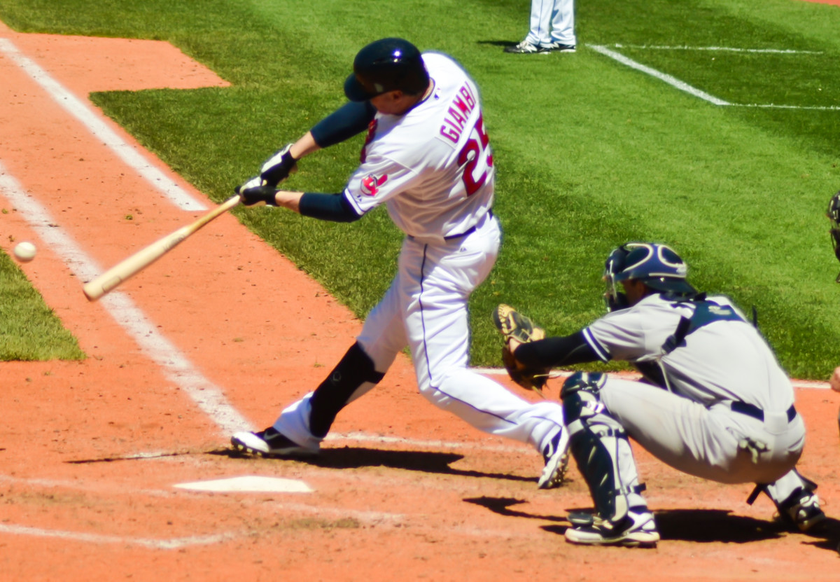 Jason Giambi is one of several players with more than 400 career home runs who spent a brief part of his career with the Cleveland Indians.