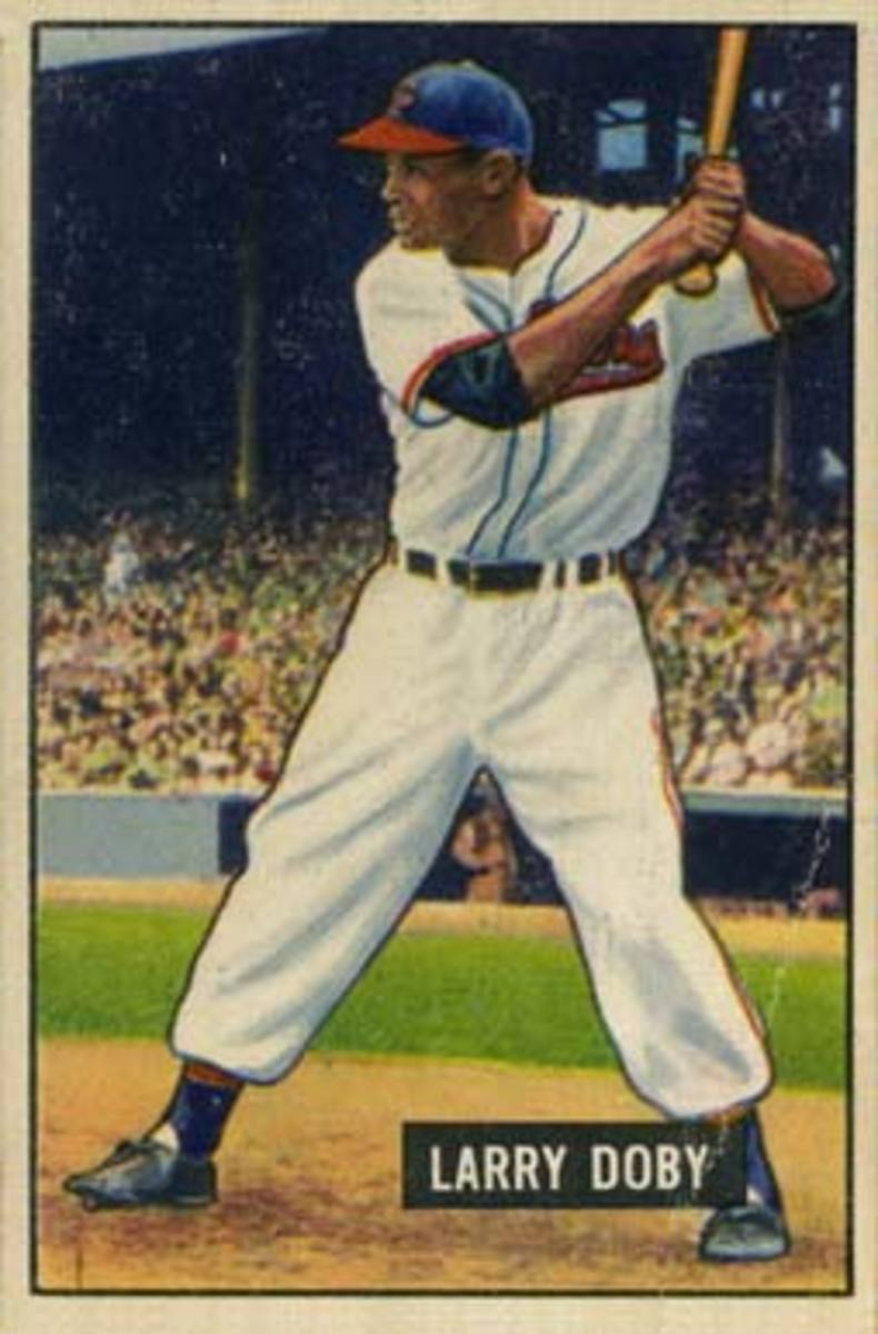 From the moment Larry Doby broke the color barrier in the American League in 1947, he was a reliable power threat for the Indians.