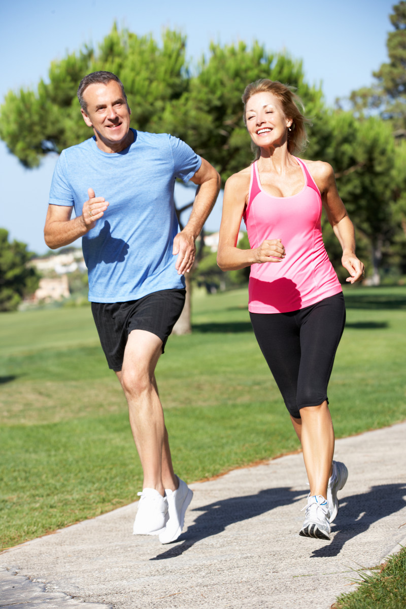 Running is effective to lose body fat